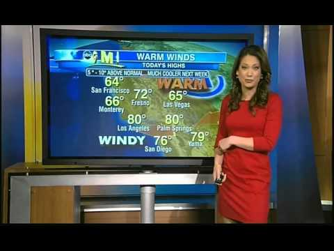 Ginger Zee mini red dress