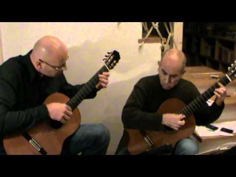 Abel Carlevaro-Arenquay, first movement - Encuentro - Aranjuez Guitar Duo
