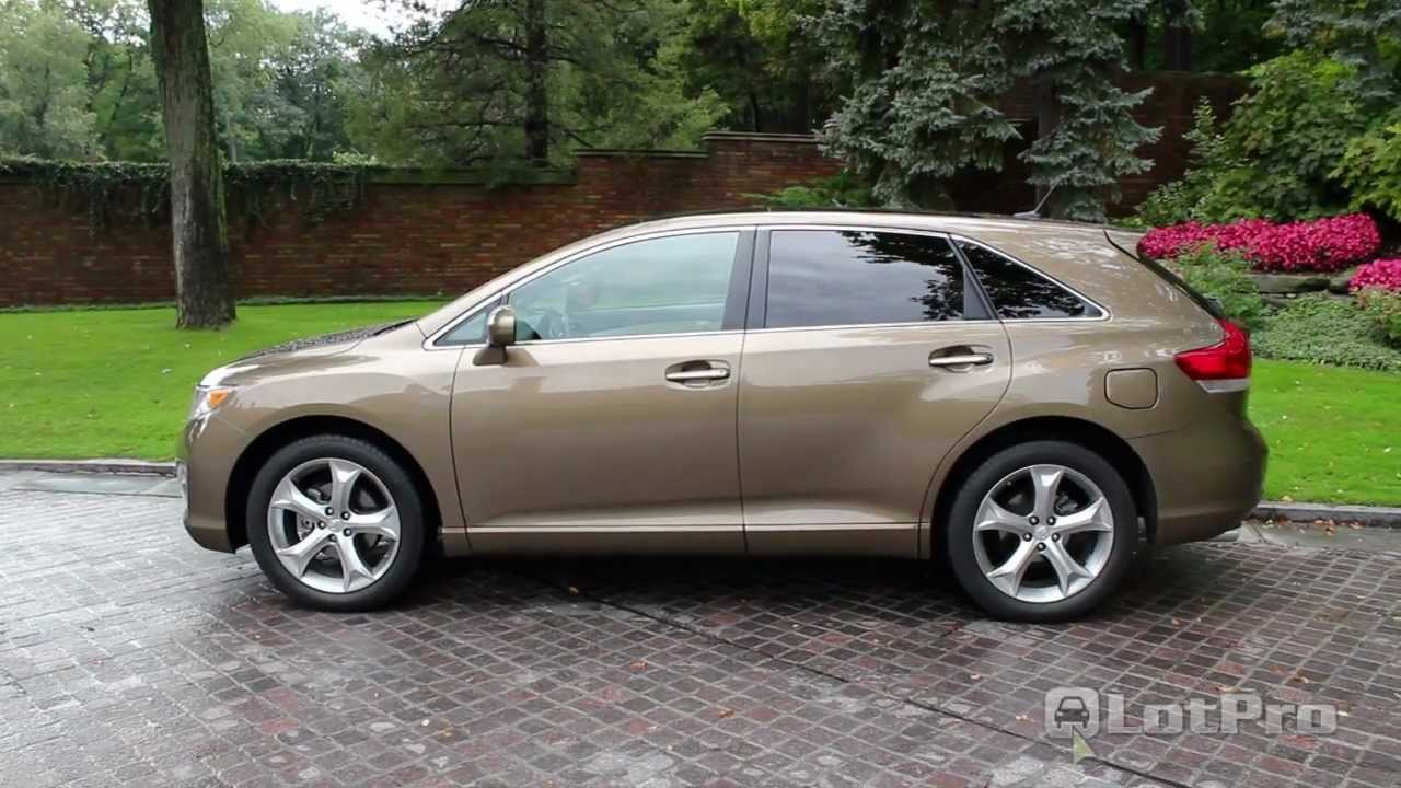 2011 Toyota Venza Review Lotpro Youtube