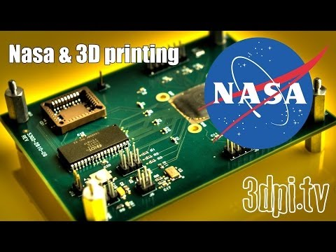 NASA's Goddard Center & Space Applications of 3D Printing
