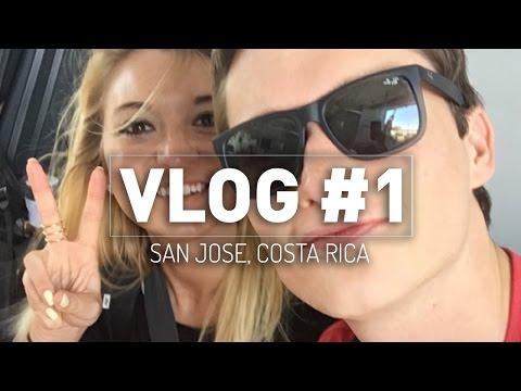 COSTA RICA ADVENTURE BEGINS! [Vlog #1]