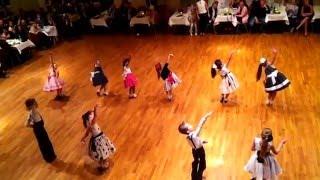 Kids Dancing Cha Cha Cha Rumba Jive