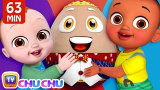 Baby's Humpty Dumpty Song + More ChuChu TV Baby Nursery Rhymes & Kids Songs