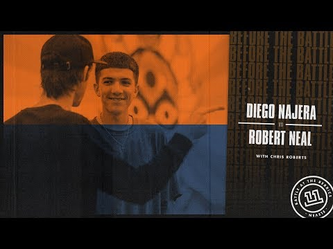 BATB 11 | Before The Battle - Round 2 Week 2: Diego Najera vs. Robert Neal