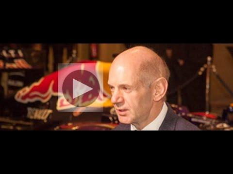 F1 Design Genius Adrian Newey OBE Joins Club Members
