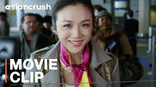 Chinese girl singing 'Single Ladies' to the TSA officer   Tang Wei in 'Finding Mr. Right'