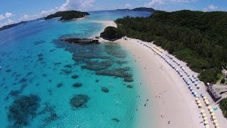 沖縄 慶良間・座間味 Okinawa Kerama Islands Zamami National Park Dji Phatntom2 from the sky