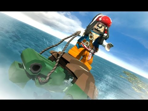 LEGO Pirates of the Caribbean - 100% Guide #4 - Smuggler's (All Collectibles)