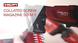 Hilti SD-M 1 Collated Screw System featured at INTEX 2014