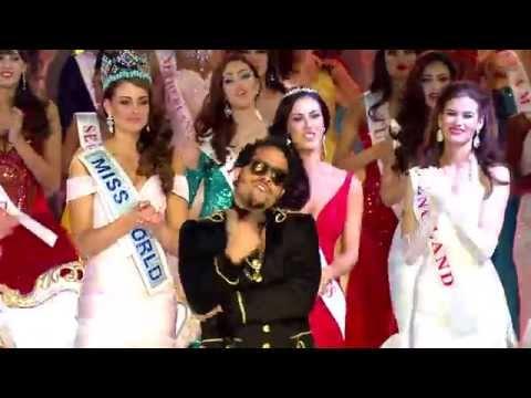 Miss World 2014 - Sky Blu party Rock Anthem video