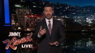 Jimmy Kimmel on School Shooting in Parkland, Florida