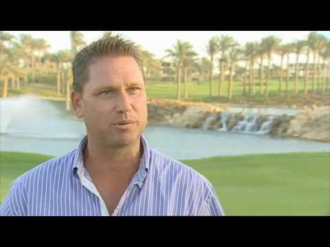 Simon Duffield Interview with Golfing World TV, Katameya Dunes Golf Club, Cairo, Egypt
