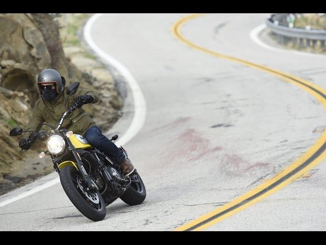 Vid�o Essai Ducati Scrambler : R�tro fun !