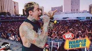 """Falling In Reverse - """"Losing My Life"""" LIVE! @ Warped Tour 2018"""