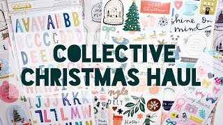 Collective Christmas Crafty Haul | Serena Bee Creative