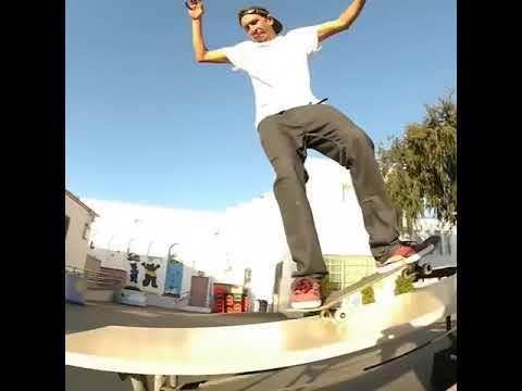 What do you think of this clip of @joeybrezinski 🎥: @juniorjv23 | Shralpin Skateboarding