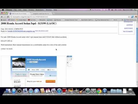 Craigslist La VideoLike