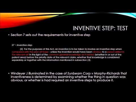 gadgets inventive step and non obviousness and Academike articles on legal  biotechnology patents and problem of non-obviousness on december 19,  the purpose of the inventive step, or non-obviousness.