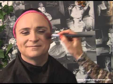 Cross Dressing For Men Presents How To Apply Day Wear Blusher