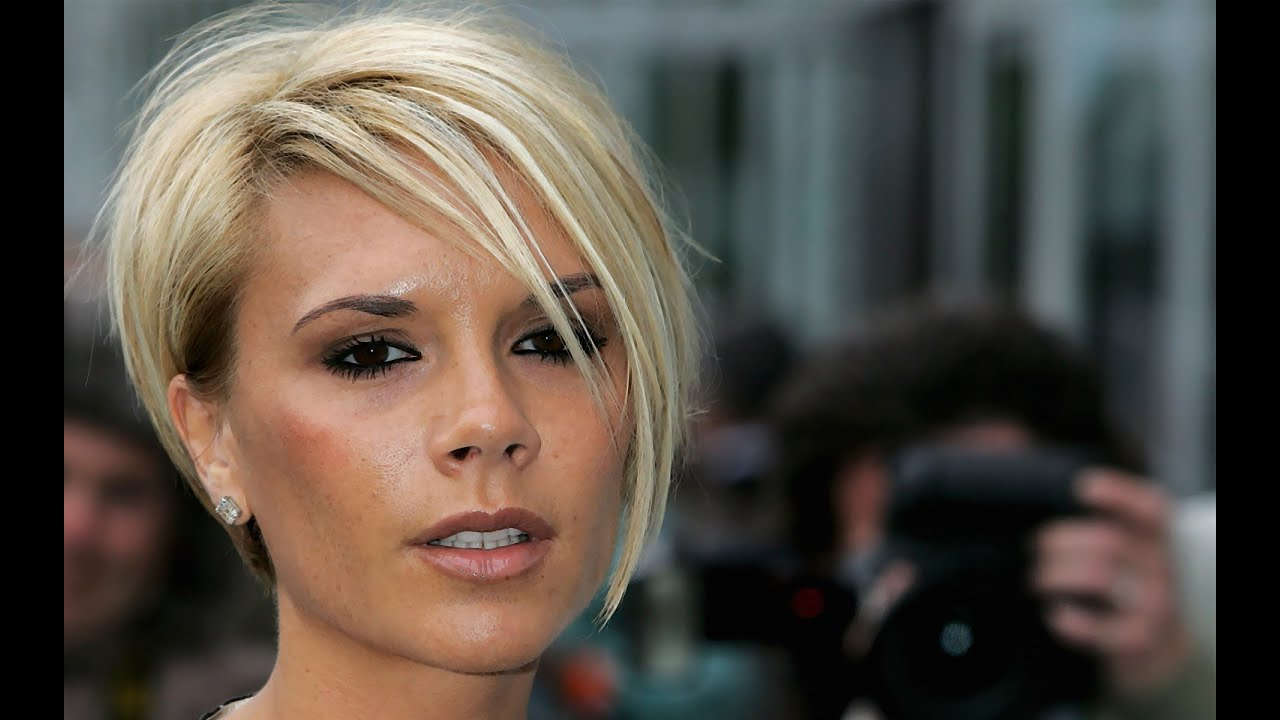 Victoria Beckham Short Hairstyles Youtube