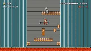 The Tower of crushing Walls by NexuS ~ SUPER MARIO MAKER ~ NO COMMENTARY