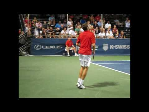 Gilles Simon en Washington Video