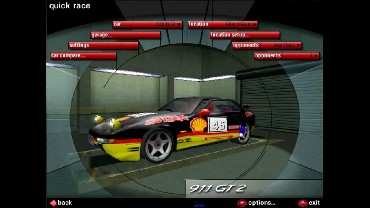 need for speed porsche 2000 porsche 928 gts cote d. Black Bedroom Furniture Sets. Home Design Ideas