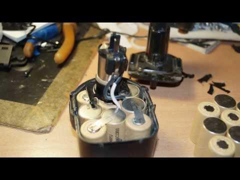 Фото ремонт аккумулятора шуруповерта своими руками