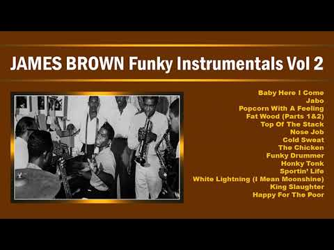 JAMES BROWN Funky Instrumentals Volume 2