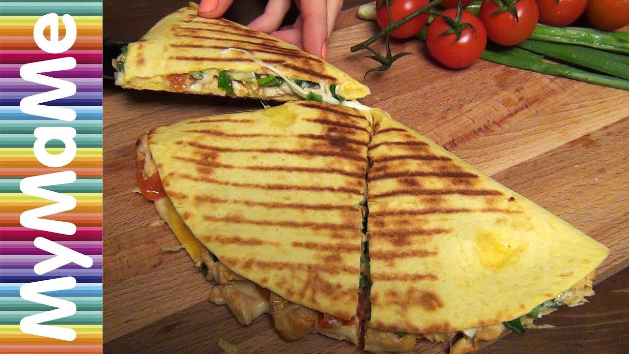 Рецепт кесадилья с курицей и сыром рецепт