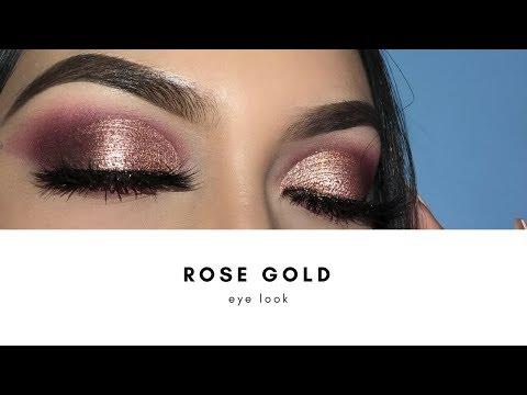 ROSE GOLD CUT CREASE
