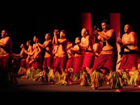 UH Hilo International Nights 2014- Samoa