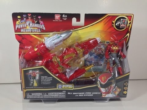 Review: Sky Brothers Zord Vehicle (Power Rangers Megaforce)