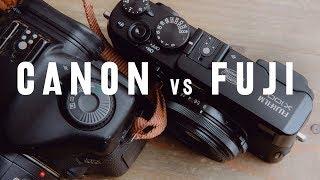 5D mark 1 vs Fujifilm x100s