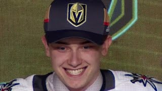Golden Knights take Glass with their first pick in franchise history