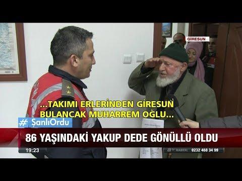 86 yaşındaki Yakup dede gönüllü oldu  - 26 Ocak 2018