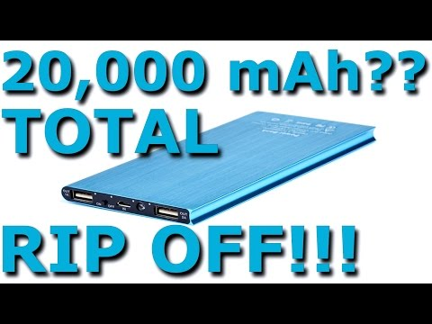 Ultrathin 20.000mAh Power Bank Thorough Review Yes. TOTAL Rip Off