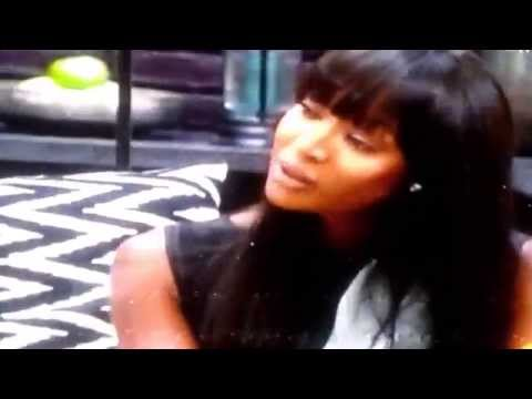 Naomi Campbell Talks Coco's Lipstick very Funny!The Face