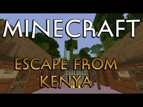 Escape From Kenya! - Minecraft Adventure Map