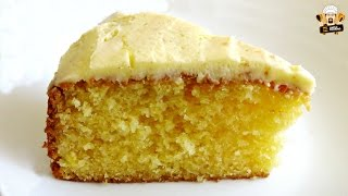 HOW TO MAKE A HOMEMADE LEMON CAKE
