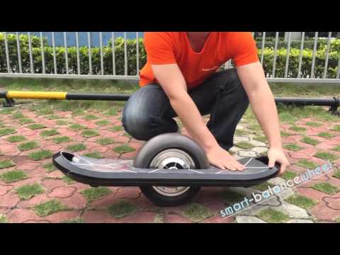 10 inch electric skateboard. One wheel hoverboard.
