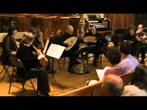 'Joyne Hands', 'Allison's Knell' and 'Goe from my Window' for Broken Consort. Performed by the Toronto Continuo Collective at the Royal St. George College Ch...
