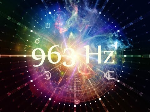 963 Hz Solfeggio Frequency ➤ Connect to Divine Consciousness   1 Hour Pure Miracle Tone