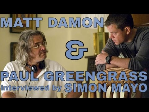 Matt Damon & Paul Greengrass Interviewed By Simon Mayo