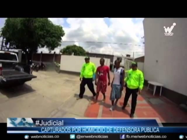 Capturaron a los presuntos homicidas de Myriam Lasso, Defensora Pública de Puerto Tejada