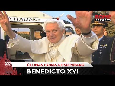 Así fueron las últimas horas del Papado de Benedicto XVI