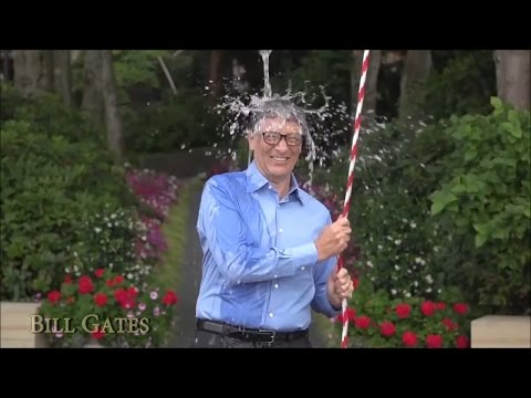 ALS Ice Bucket Challenge - Super Star - Vin Diesel, Mark Zuckerberg, Bill Gates, Eminem!