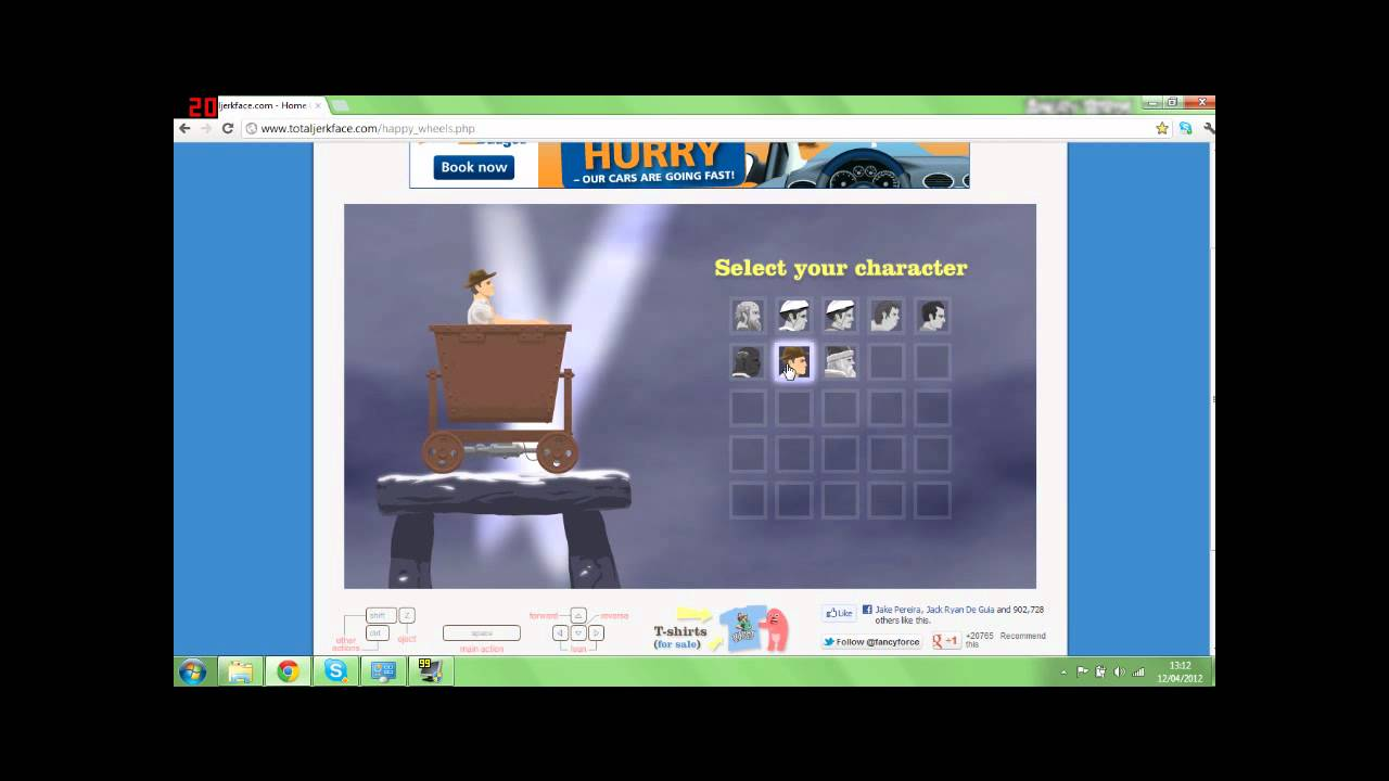 How To Play Happy Wheels Full Version For Free - YouTube