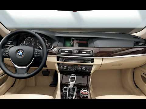 2010 BMW 5 Series F10. Интерьер