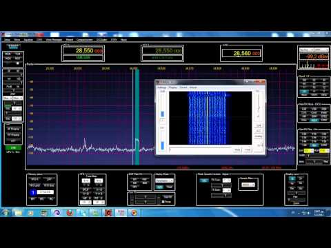 FDMDV QSO @ 10m band with SV1FXO, SV1EIA, SV1IXP & SV1JGW using SDR Transievers